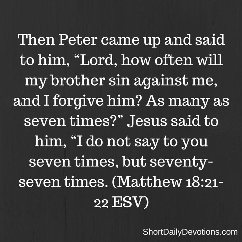 ForgivenessMatthew18