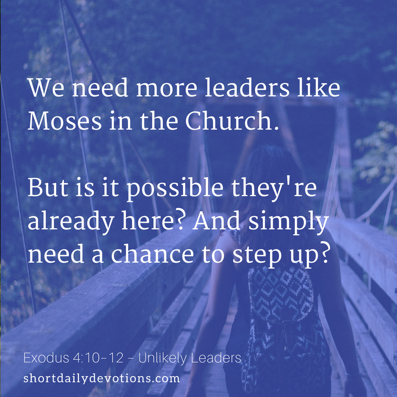 We Need More Leaders Like Moses In The Church